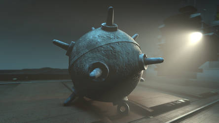 SFM Sea Mine Model by xPrEpWnEdx