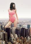 Alexandra Daddario visits New York