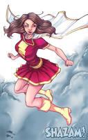 Hero #6: Mary Marvel by KHAN-04