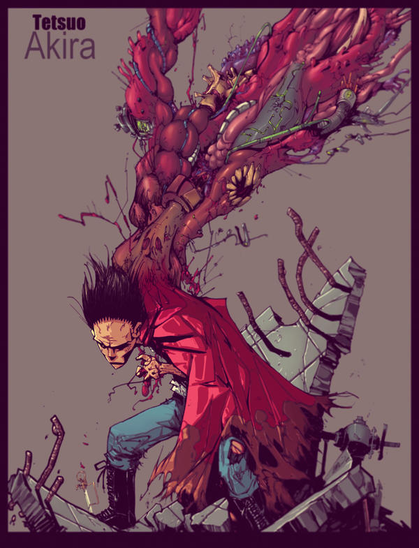 Tetsuo Shima Mutation Tetsuo by KHAN-04 on D...