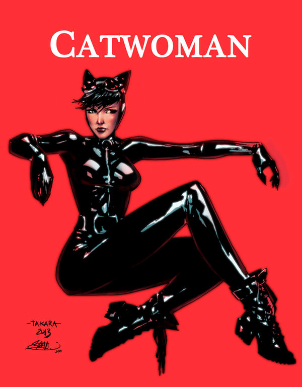 Catwoman by KHAN-04