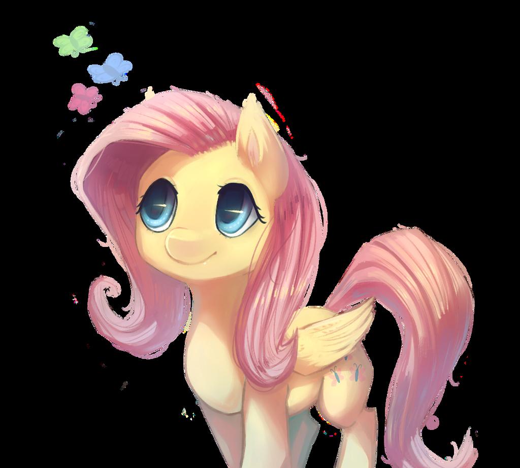 Fluttershy by Siffou