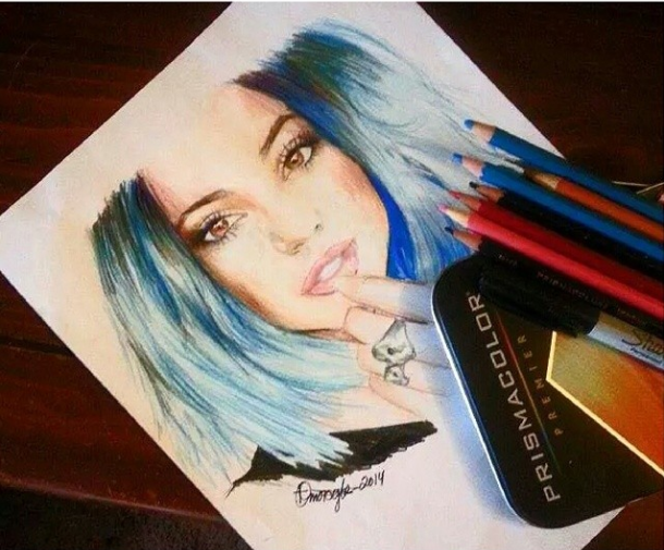 Kylie Jenner by QueenofInnocence