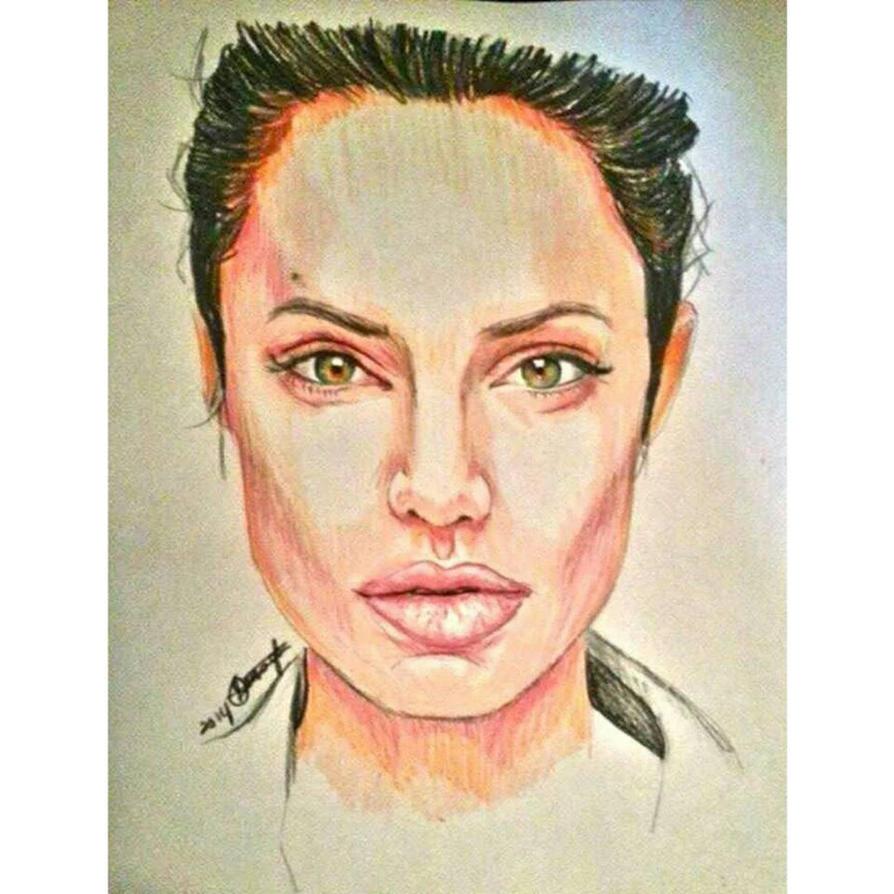 Angelina Jolie by QueenofInnocence