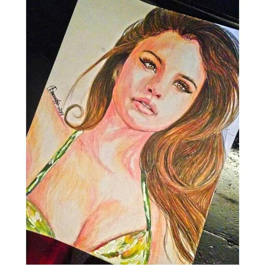 Selena Gomez by QueenofInnocence