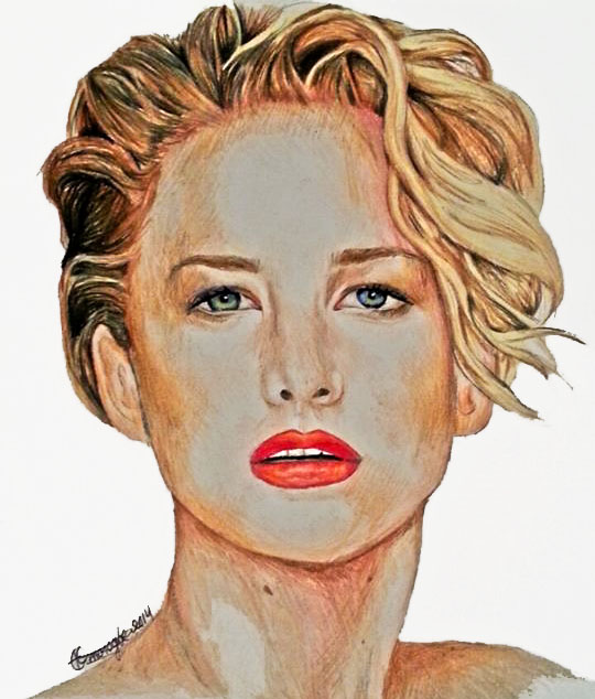 Jennifer Lawrence by QueenofInnocence