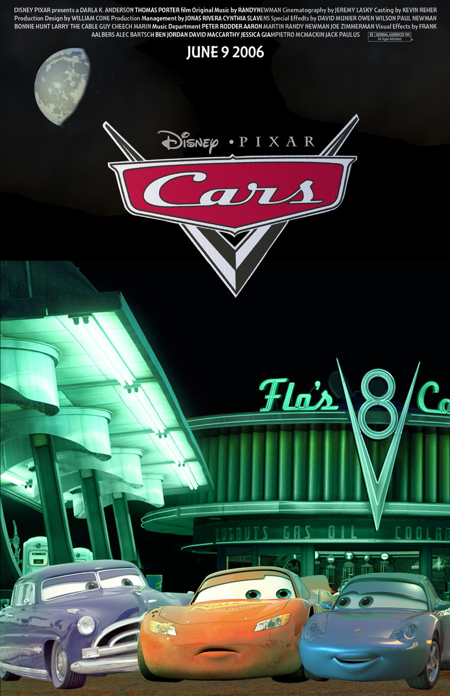 My Disney Cars Movie Poster By Sonyfan1991 On Deviantart