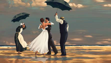 Wedding Dance on the Beach