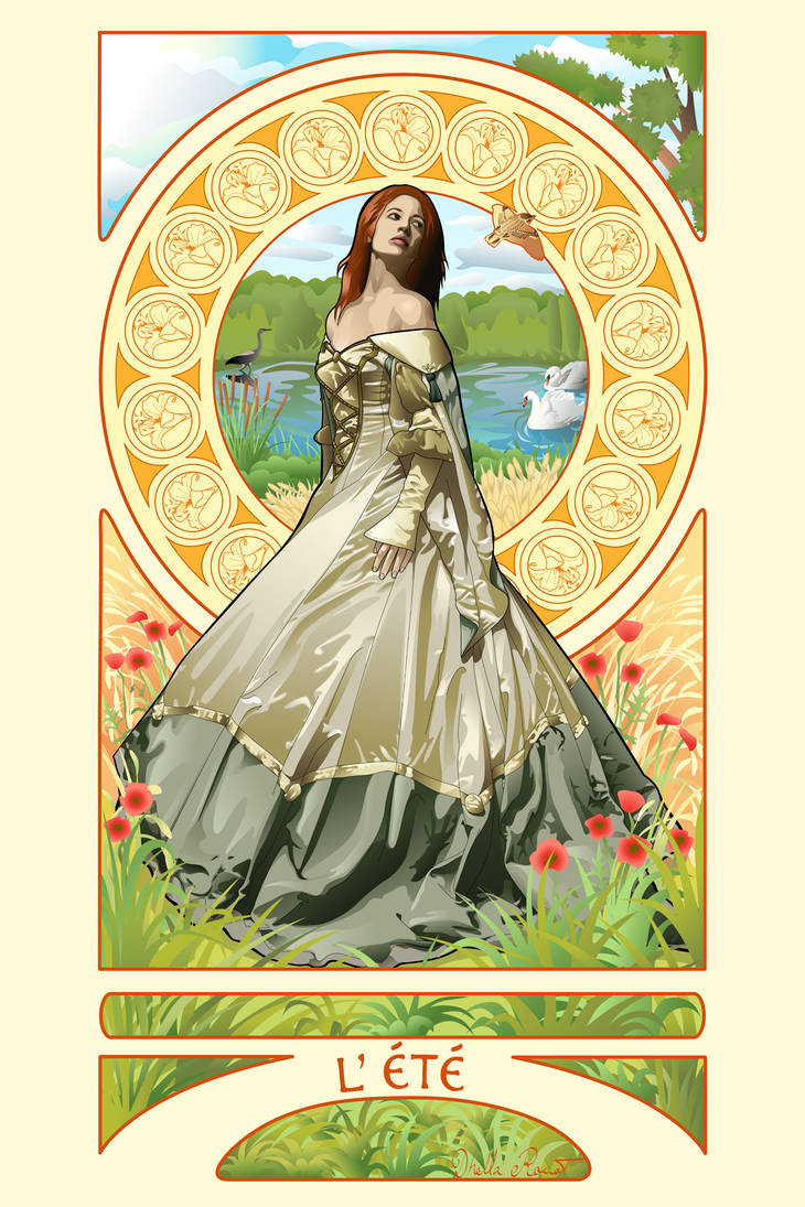 The Four Seasons - Summer by Zhaana