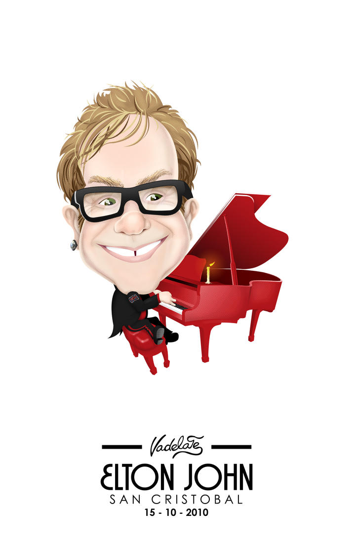 Sir Elton John by VADELATE