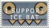 I SUPPORT...... ice bat by HostilePiranha