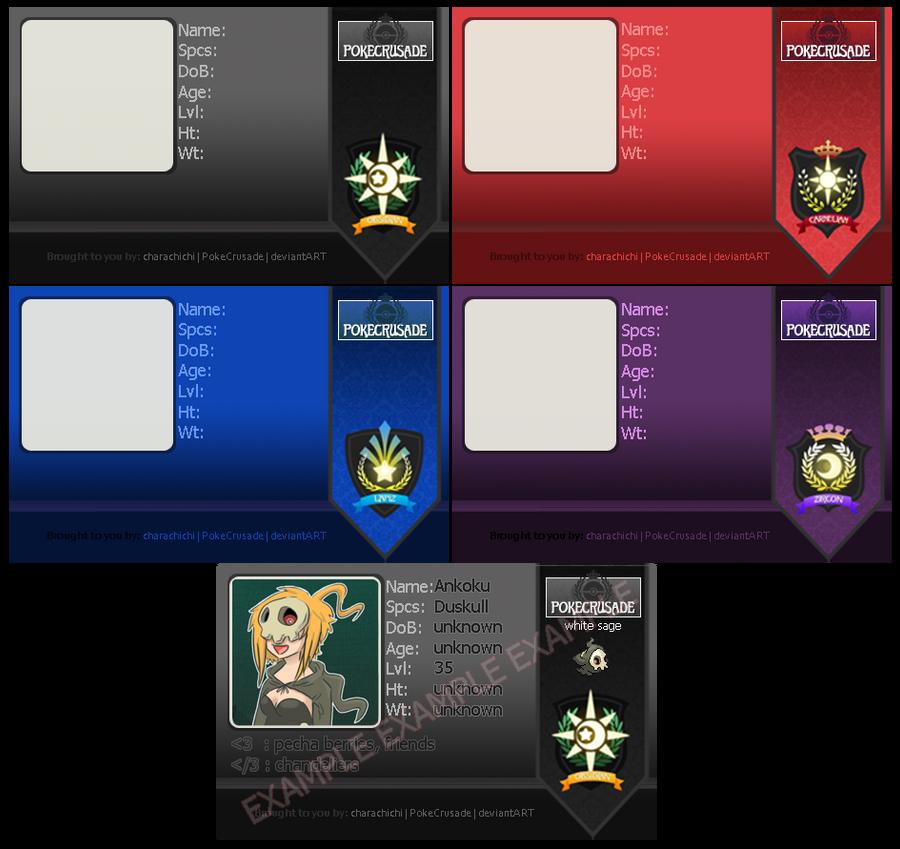 PokeCrusade: Pokemon Guild ID by HostilePiranha on DeviantArt