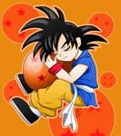 :Goku and weird Ball: Shu Chan