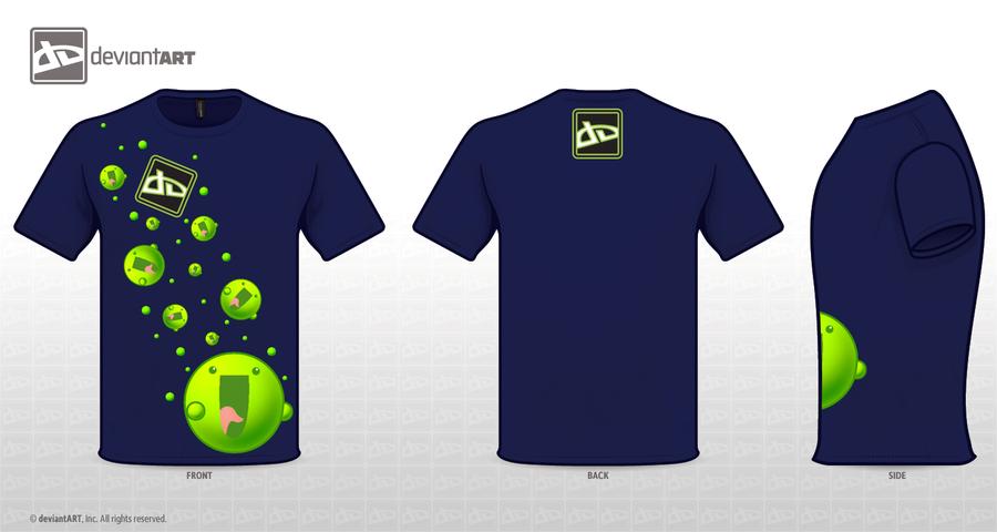 :Crazy :la: : dA Logo T-Shirt by xShu-Chan