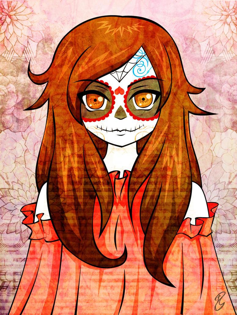 mia catrina by xshu chan on deviantart cute pumpkin clipart cute pumpkin clipart free