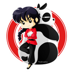 Ranma and Genma!