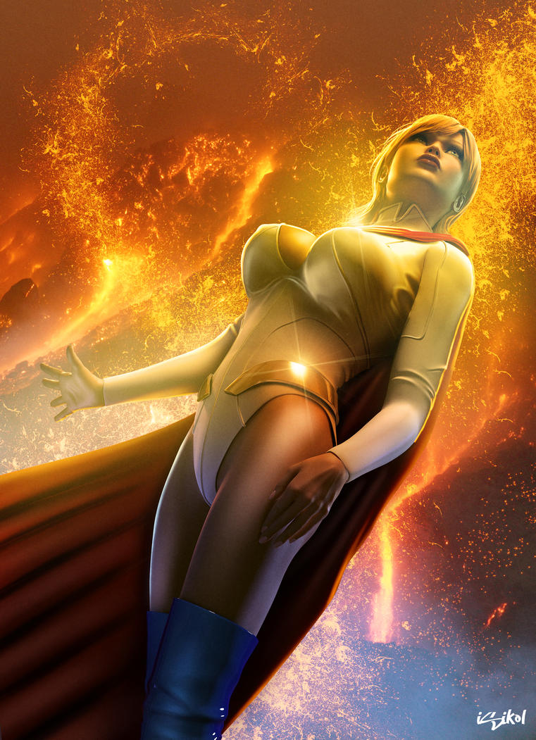 Powergirl porn art softcore image