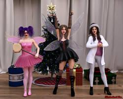 The 3 crazy chicks of Christmas