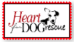 Heart For Dog Rescue Stamp by lilyzoe07