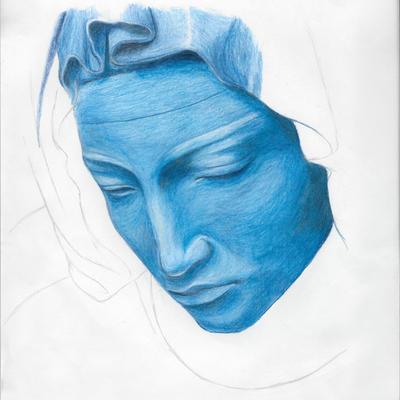 Pieta Pencil Crayon by blind-faith