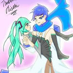 Holding you [ Kaito x Miku ]
