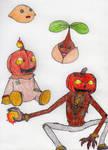 Seedmon Digivolution by Mike-B-Kittson
