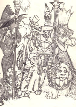 The Cast of Oz