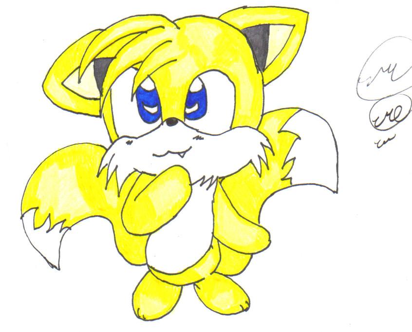 chibi tails by pikafan-1