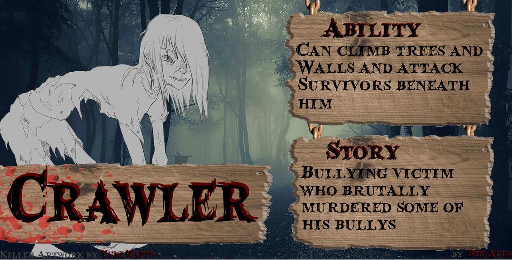 The Crawler - Dead by Daylight OC by Ben-Acid on DeviantArt