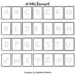 #ABCfanart Template
