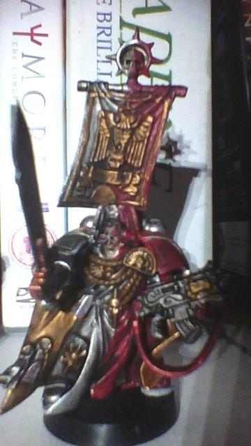 Crimson Dawn Space Marine Commander by Kairi-Tsuikai