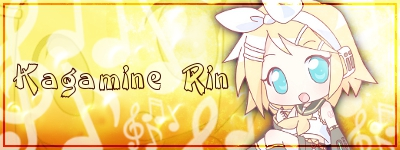 Kagamine Rin Sygnature Chibi by Siara013