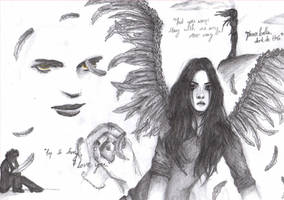 Bella and Edward New moon by 1994babe