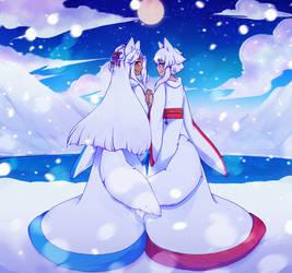 Winter love by stardust-penguin