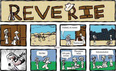 Reverie comic | Adventure (Western) by HeavenSentGaming