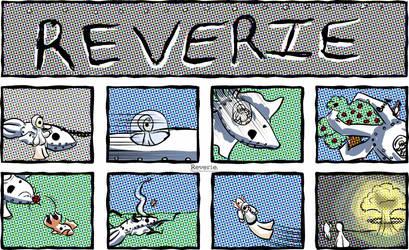 Reverie comic | Mecha Sepie Mk. II by HeavenSentGaming