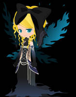 Princess of the dark flame by kana-kana