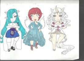 Fantasy Adopts (1/3 OPEN) by kana-kana
