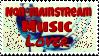 Non-mainstream Music Lover Stamp by Monokanguyen