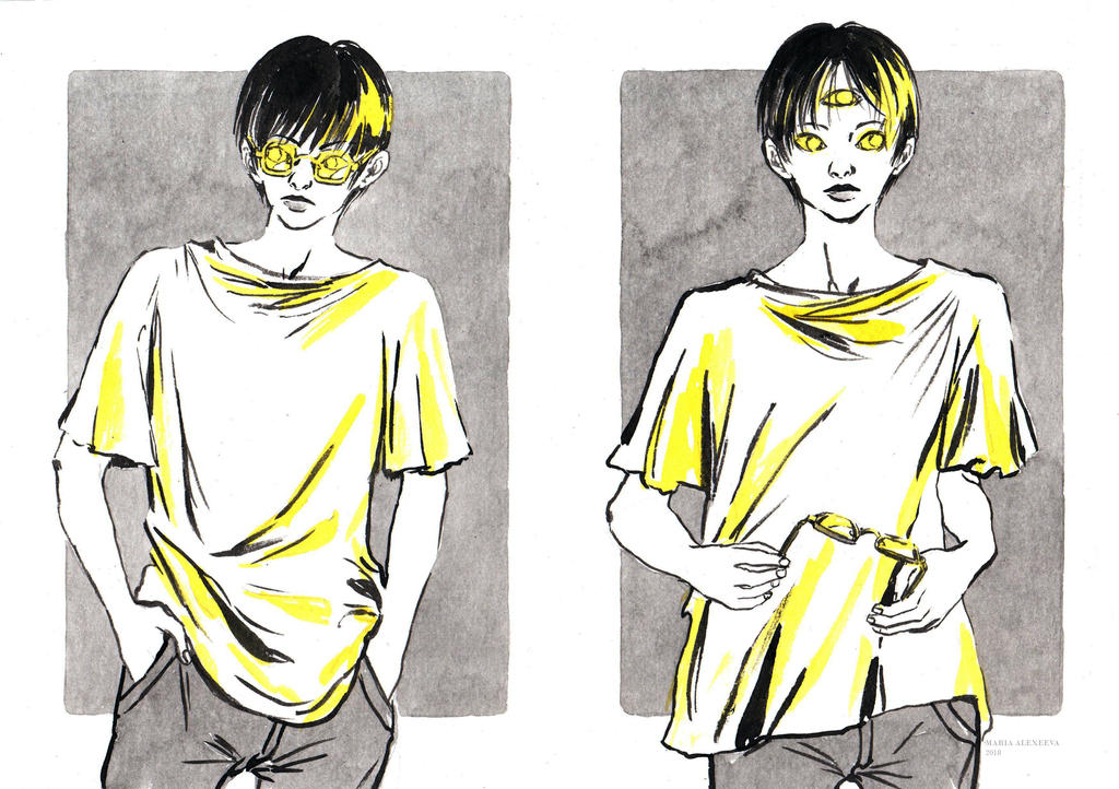 3 eyes by AstaQte