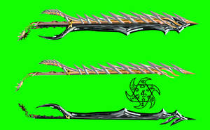 Divided Fate Keyblade by dyyor