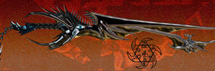 Way to Devistation Keyblade by dyyor