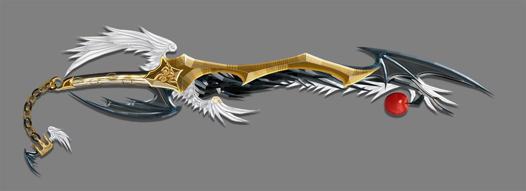 Inner Confliction Keyblade By Dyyor On Deviantart