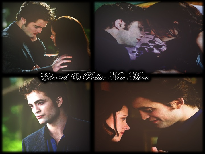 Edward and Bella New Moon by CriminalMindsLover19