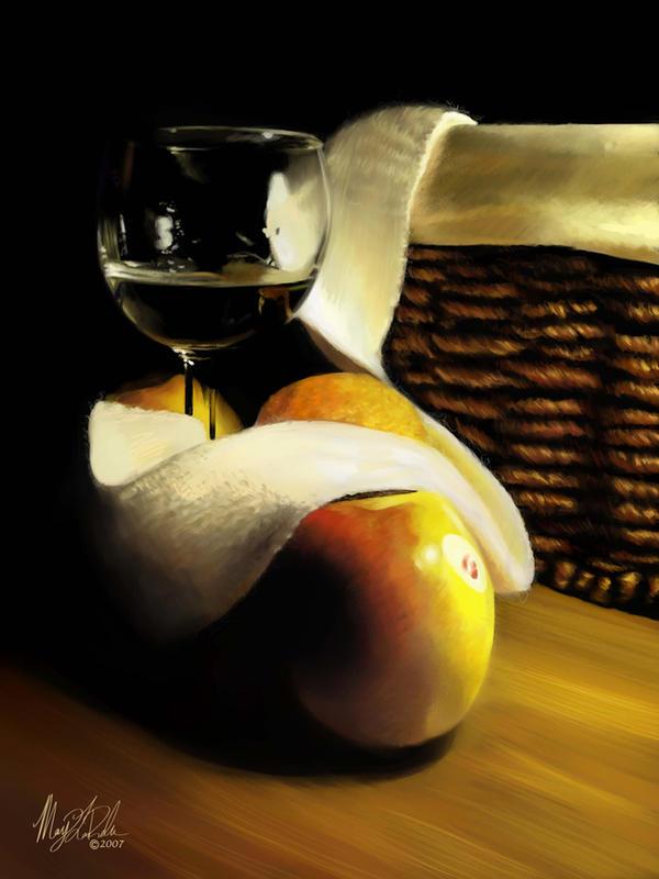 Pastel Still Life by M-LaRochelle