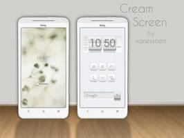 Cream Screen by vanessaem
