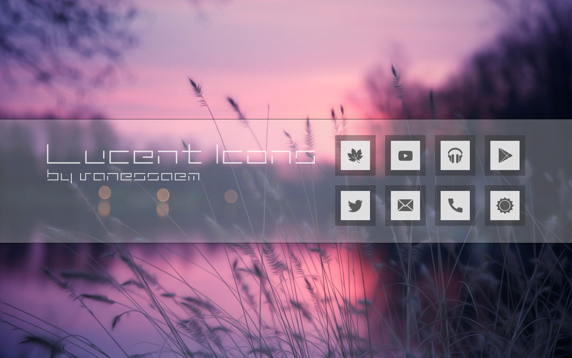 Lucent Icons by vanessaem