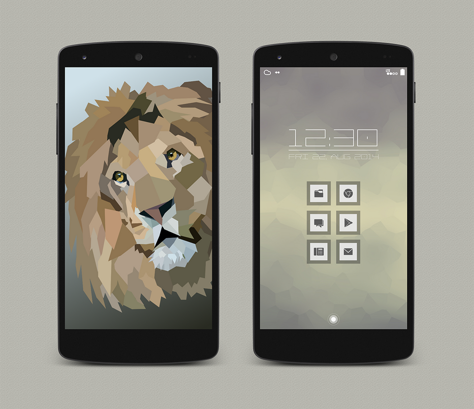 Lucent Lion by vanessaem