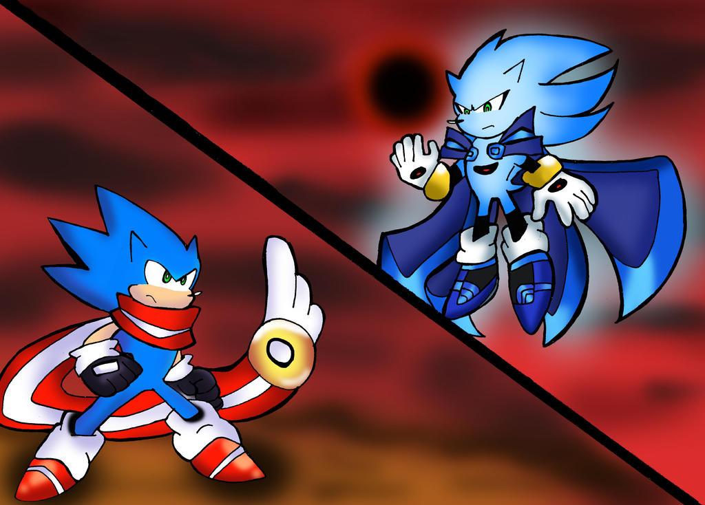 Sonic vs Nazo by klaudiapasqui on DeviantArt