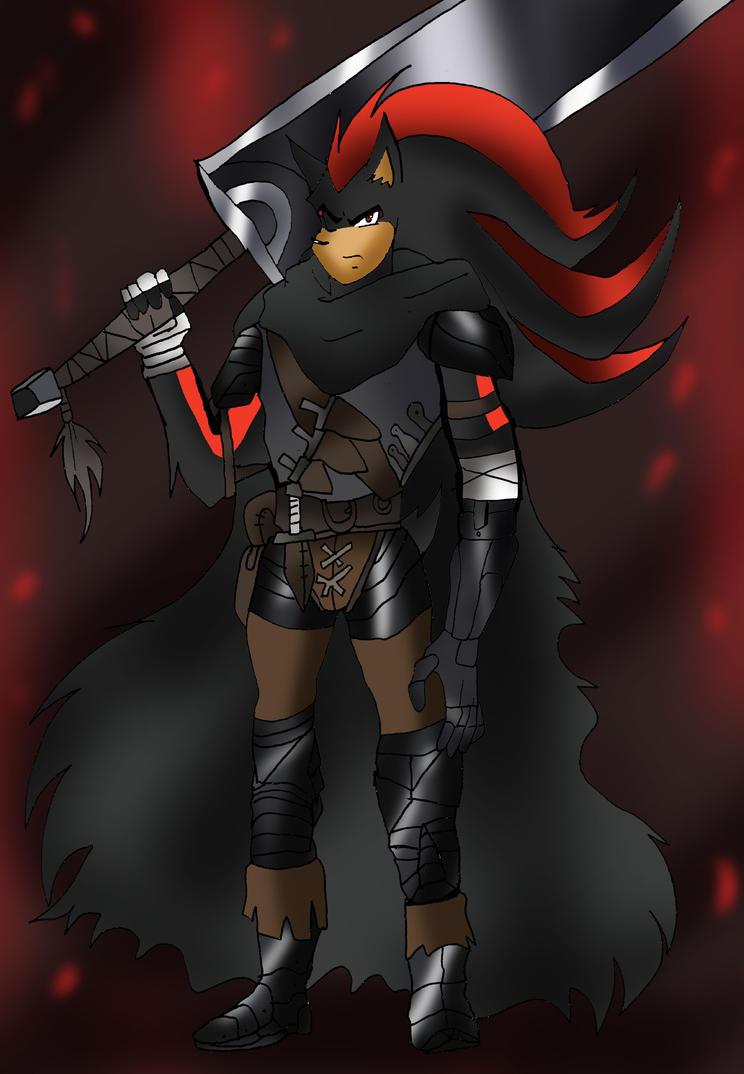 berserk: Shadow (version guts) by klaudiapasqui